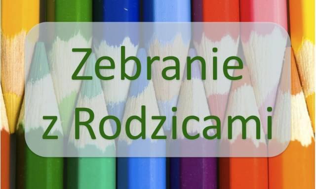 zebranie_z_rodzicami klas IV-VI